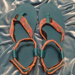 Funky Teva sandals